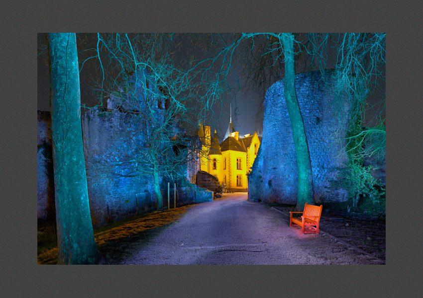 Bressuire, le château.