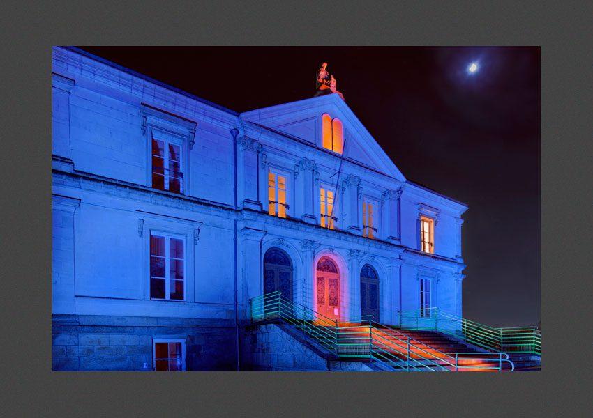 Bressuire, le palais de justice.
