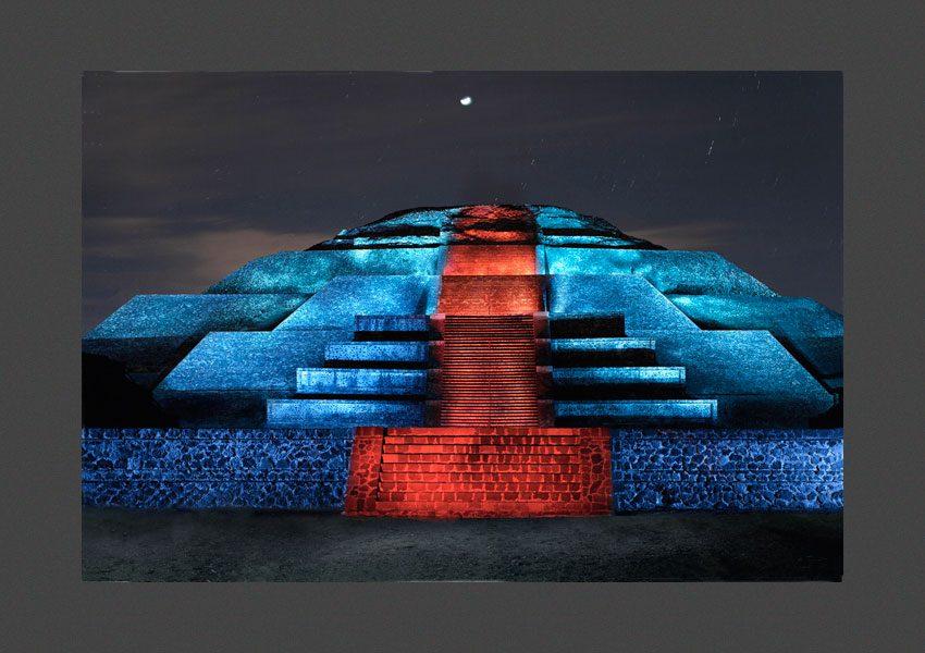 Pyramide de la Lune, Teotihuacan, Mexique, 2012