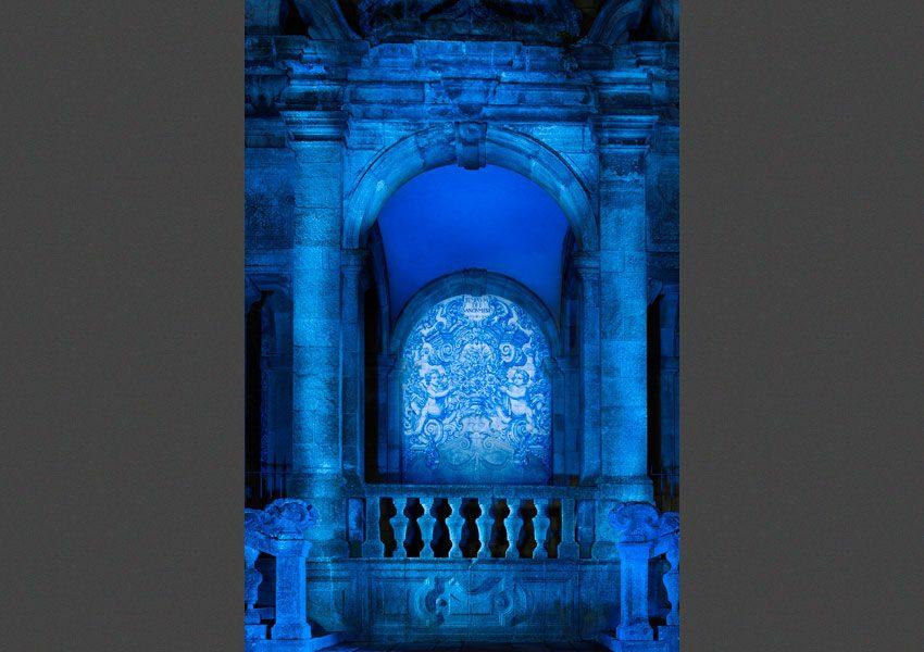 Azulejos, catédral do Porto, 2012