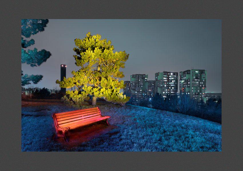 """Sevran, 2013, Le lieux de Elie R. (voir la suite de ce travail dans la galerie """"Images négociées"""")."""