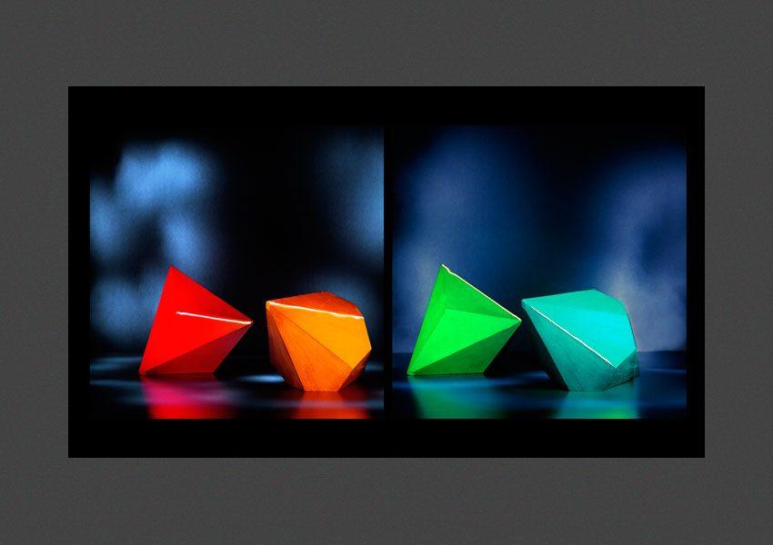 Portrait stéréoscopique d'objets mathématiques, 2000