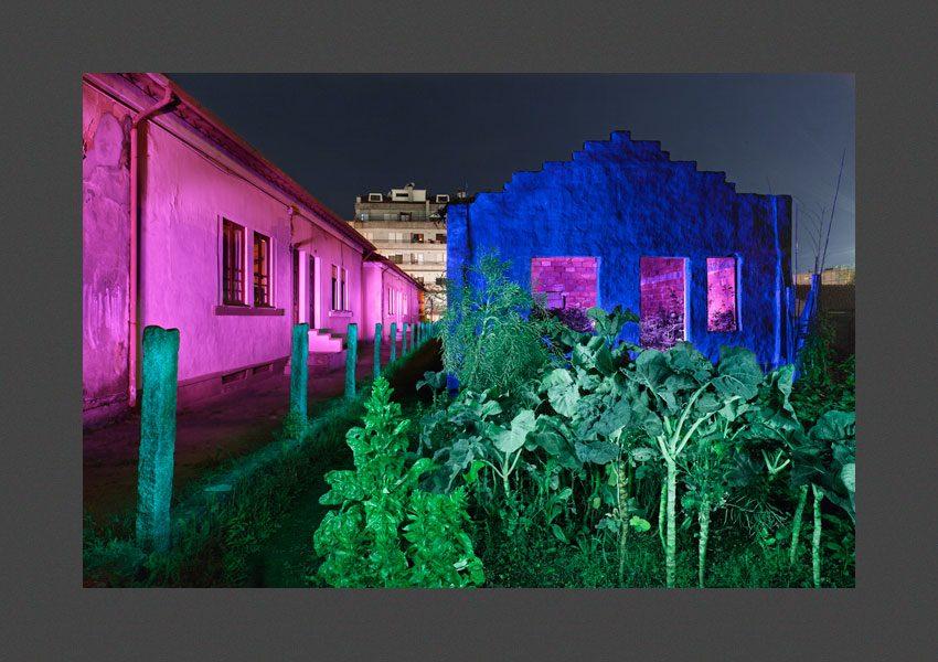 Casas e quintal, Gaïa, Porto, 2012