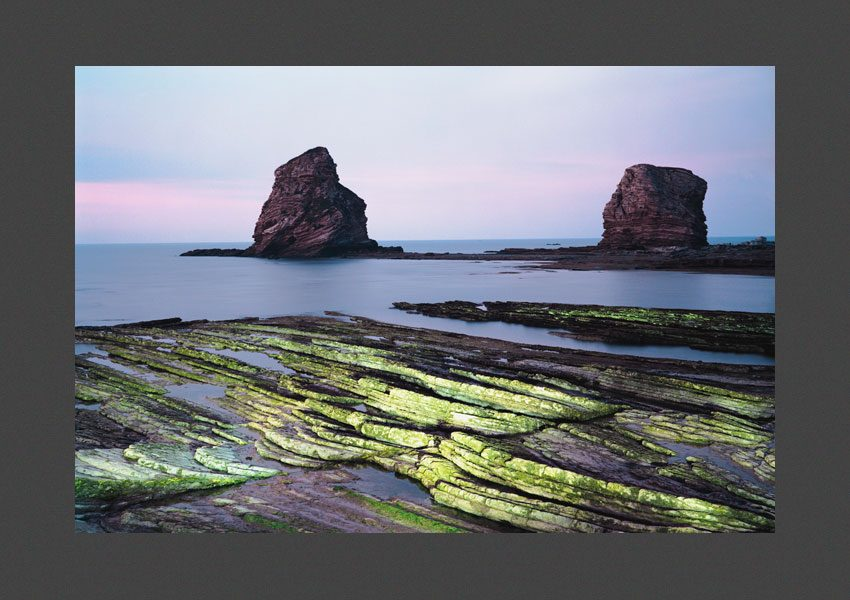 Le littoral Basque, Hendaye,1995