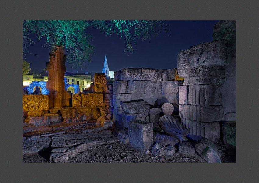 Le théâtre antique, Arles, 2014