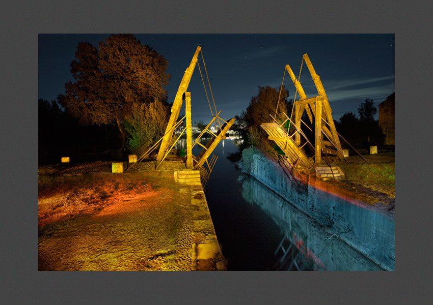 """Le dit """"pont Van-Gogh"""", Arles, 2014"""