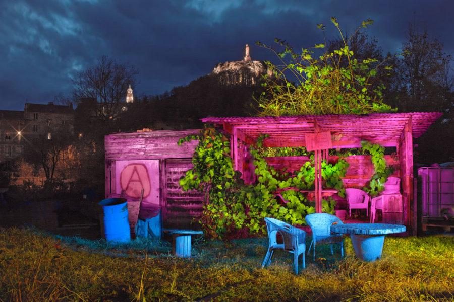 Jardins ouvriers Sainte Catherine, Le Puy en Velay (Auvergne), 2018