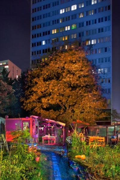Jardins partagés « Des tours au jardin », Paris 13°, 2018