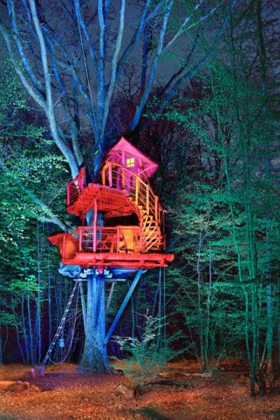 """Le bois Landry (Perche), cabane """"Cocoon"""",  2019"""