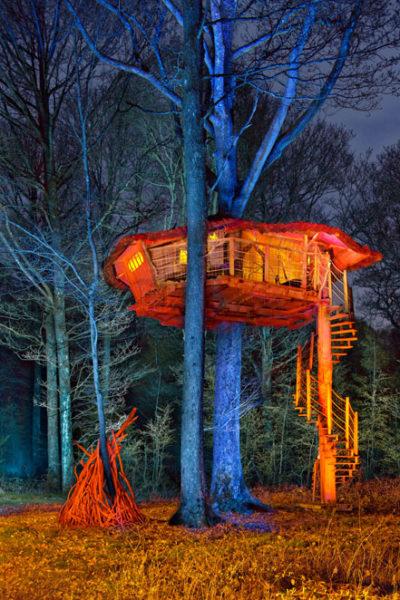"""Le bois Landry (Perche), cabane """"Colimaçon"""", 2019"""